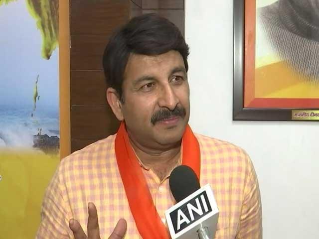 Video : Exit Polls Will Fail, BJP Will Get 48 Seats: Manoj Tiwari