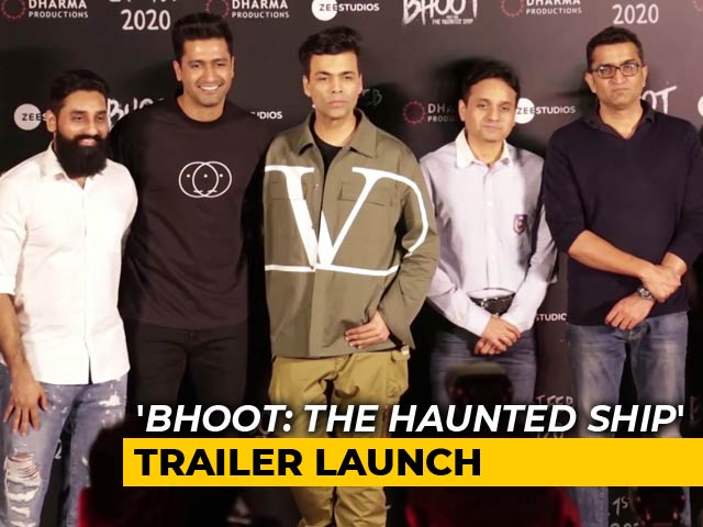 Video : Trailer Launch Of '<i>Bhoot: The Haunted Ship</i>', Tiger Shroff's '<i>Baaghi 3</i>' First Look Revealed