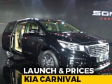 Video: Kia Carnival India Launch And Prices