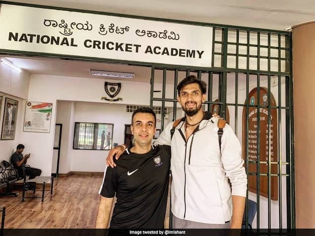 National Cricket Academy Physio Under Scanner After Ishant Sharmas Injury: Report