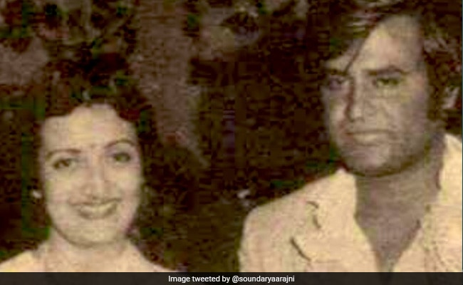 On Rajinikanth And Latha's 39th Wedding Anniversary, A Rare Throwback Pic Shared By Daughter Soundarya thumbnail