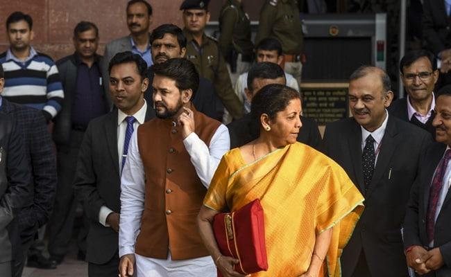 Finance Minister Nirmala Sitharaman's Red 'Budget Bahi Khata' Is Back