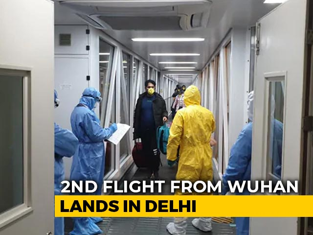 Video : India Evacuates Second Batch Of 323 People From Coronavirus Epicentre