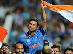 Sachin Tendulkar Carried On Shoulders World Cup 2011 Moment Wins Laureus Award