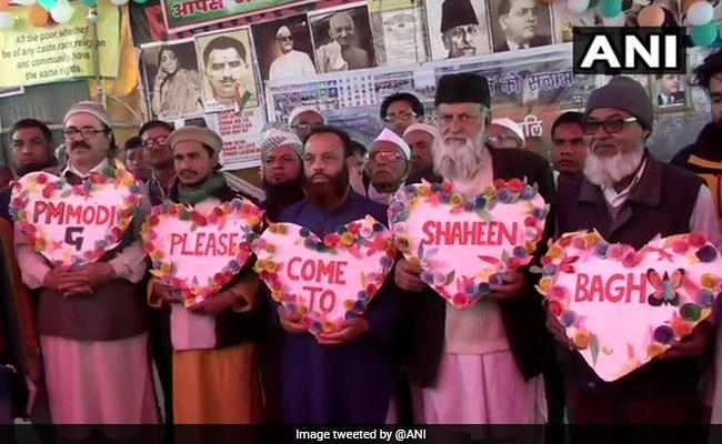 Shaheen Bagh Protesters' Valentine's Day Invitation To PM Narendra Modi