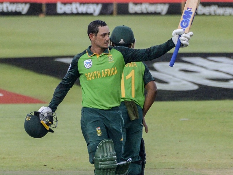 1st ODI: Quinton De Kock Guides South Africa To 7-Wicket Win Over England