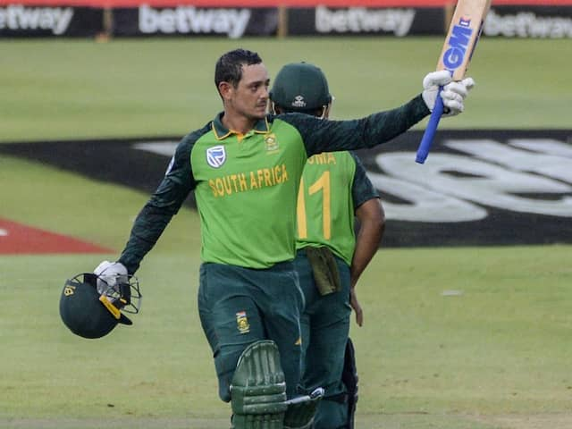 Quinton de Kock Named Named South Africa Mens Cricketer Of The Year