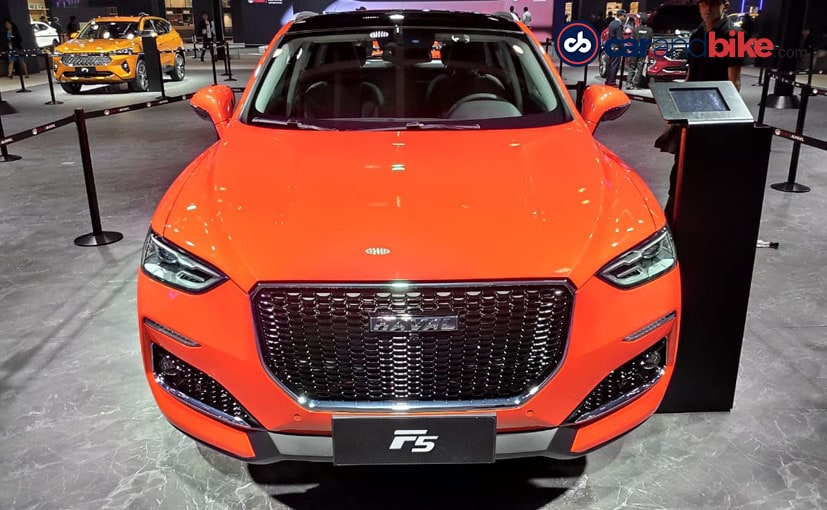 Auto Expo 2020: Haval F5 And F7 SUVs Make India Debut