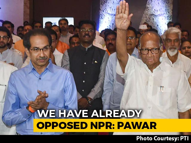 Video : Sharad Pawar On Differences With Sena Over Population Register, CAA