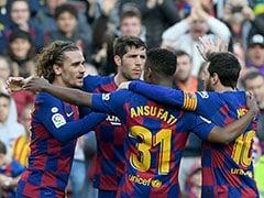 Barcelona vs Getafe: Antoine Griezmann Stars As Barcelona Beat Getafe In La Liga