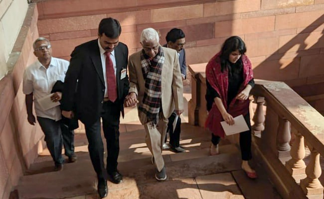 Nirmala Sitharaman's Daughter, Uncle In Parliament To Cheer Her On