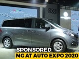 Sponsored: MG Model Showcase At Auto Expo 2020