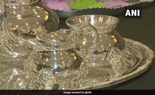 Exclusive Gold And Silver 'Trump Collection' Made For US President