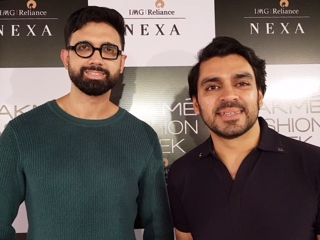 Video : Shivan And Narresh On Their Lakme Fashion Week Collection And Trends For The Upcoming Season