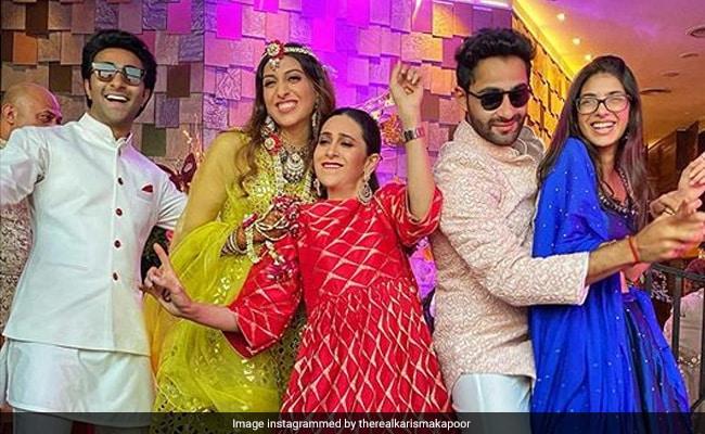 Armaan Jain, Anissa Malhotra's Sangeet Made Special By Karisma Kapoor, Kiara Advani And Others