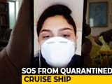 Video : Indian Officer, Isolated On Ship Quarantined Off Japan, Sends An SOS