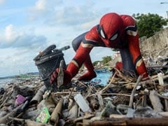 Why This Man Dresses Up As Spider-Man To Clean Trash