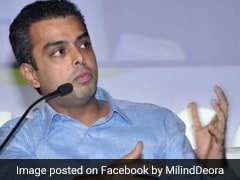 """Brother, Please Leave..."": Congress Leader To Milind Deora For AAP Tweet"