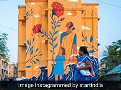In Pics: Chennai Resettlement Site Comes Alive With Vibrant Murals