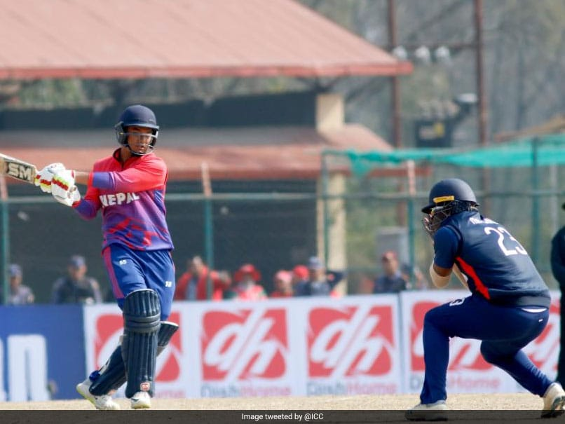 Nepals Kushal Malla Becomes Youngest Batsman To Score Half-Century In ODI Cricket