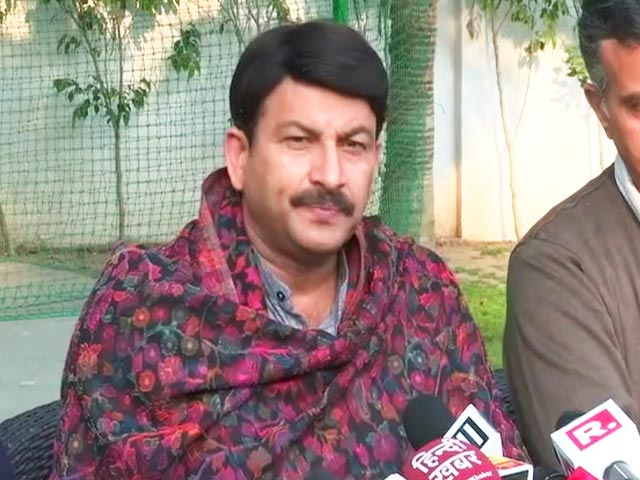 "Video : ""We Are Never Involved In Politics Of Hate"": BJP Delhi Chief Manoj Tiwari"