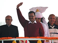 """Time To Go National,"" Say AAP Supporters At Arvind Kejriwal's Oath"