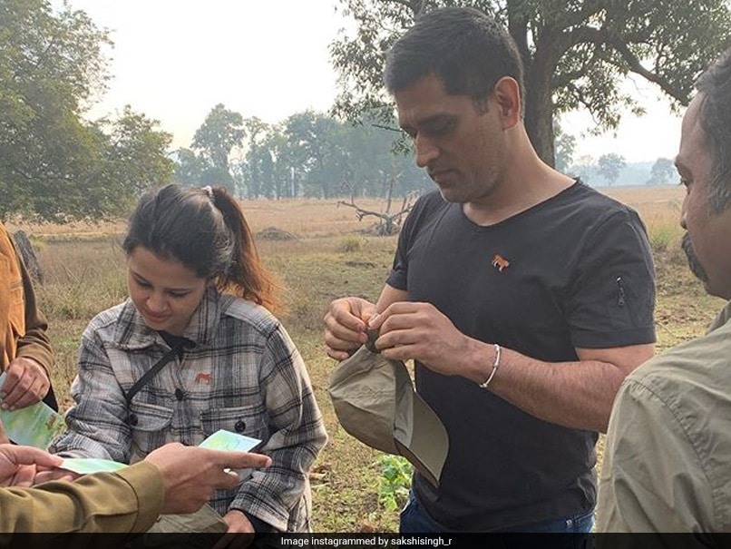 """Tiger Saw A Tiger"": MS Dhoni Wows Fans With His Photography Skills"