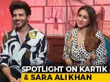 Video : Kartik Aaryan And Sara Ali Khan On </i>Love Aaj Kal</i>, Working With Imtiaz Ali And More