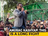 "Video : ""Long Fight, Will Have To Be Patient"": Anurag Kashyap Joins CAA Protests At Jamia"