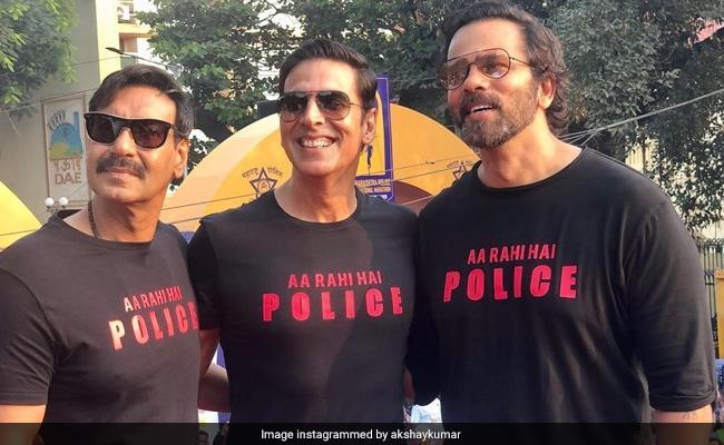 Sooryavanshi: When Real And Reel Life Cops Akshay Kumar And Ajay Devgn Converged At A Marathon