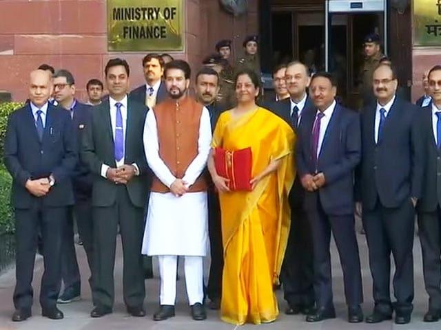 Video : Finance Minister Nirmala Sitharaman To Present Union Budget Today