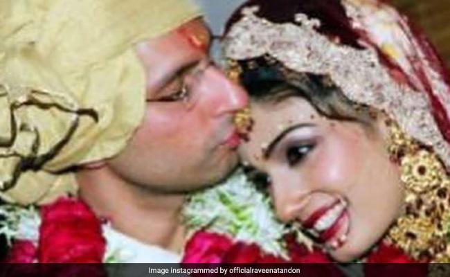 Raveena Tandon's Post For Husband Anil Thadani Makes A Perfect Anniversary Gift