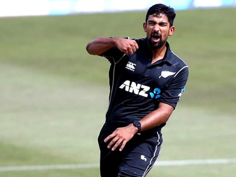 "NZ vs IND: Indian Bowlers ""Very Helpful, Willing To Share Experiences,"" Says Ish Sodhi"