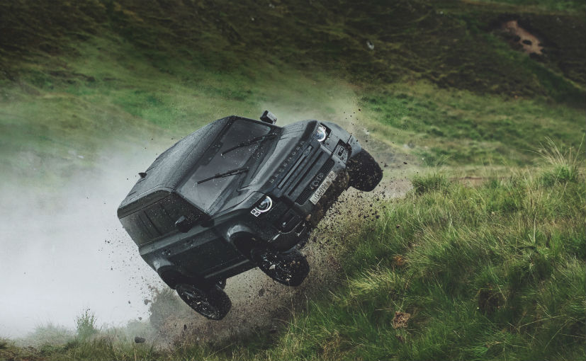 New Gen Land Rover Defender 110 Flies In The Upcoming James Bond Movie