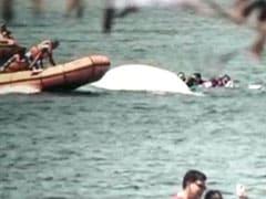 झील में आईपीएस अफसरों की बोट अचानक पलट गई, सभी को सुरक्षित निकाला; देखें VIDEO