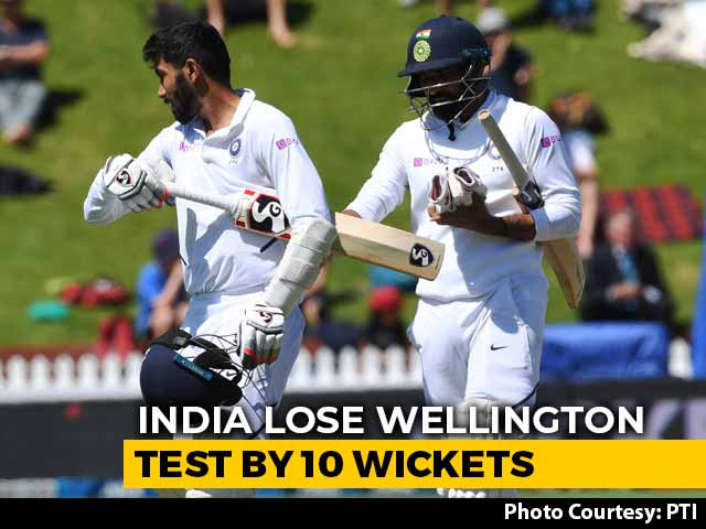 Video : New Zealand Outclass India By 10 Wickets To Take 1-0 Lead In Series