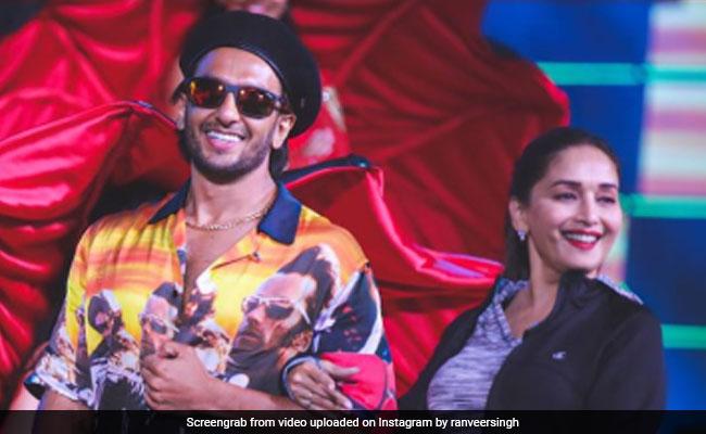 Filmfare Awards 2020: A Glimpse Of Madhuri Dixit And Ranveer Singh's 'Backstage Shenanigans'
