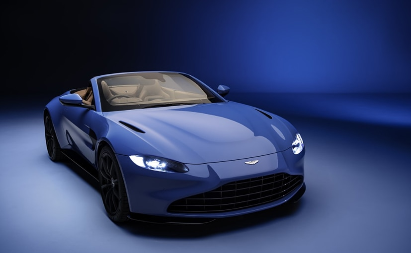 Aston Martin's New Vantage Roadster Unveiled; Has The World's Fastest Convertible Roof