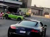 Video : Watch: Bengaluru Businessman Crashes Lamborghini  Into Traffic Post