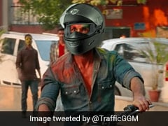 "Gurgaon Police's Message To ""<i>Kabir Singh</i>"" On Road Safety Leaves Twitter In Splits"