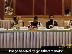 Watch: Nirmala Sitharaman To The Rescue As Anurag Thakur Evades Question