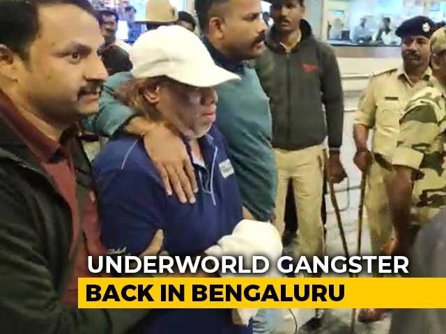 Video : Underworld Gangster Ravi Pujari Back In Bengaluru, Sent To Police Custody