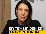 Video : British MP Who Criticised Government on Article 370 Stopped At Airport