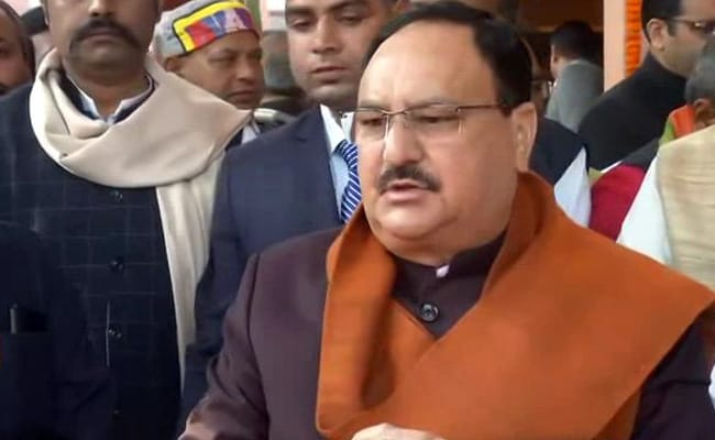 Congress Never Gave BR Ambedkar Respect, Modi Government Fulfilled His Vision: JP Nadda