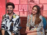 Video : Kartik Aaryan And Sara Ali Khan React To <i>Sartik</i>