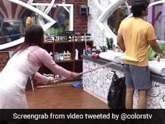 Bigg Boss 13: शहनाज गिल ने सिद्धार्थ शुक्ला को वाइपर से किया साफ, फिर हुआ ऐसा- देखें Video