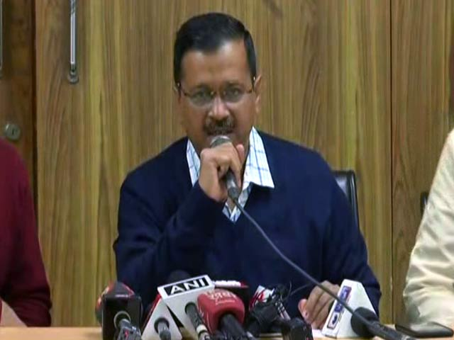 """Video : """"Cops Unable To Act, Awaiting Orders"""": Arvind Kejriwal On Delhi Clashes"""