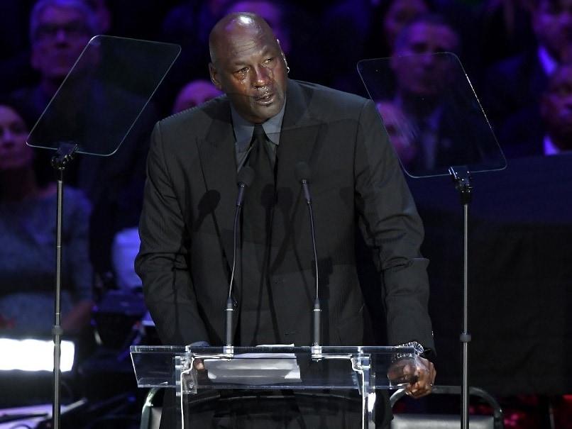 "Tearful Michael Jordan Commemorates ""Little Brother"" Kobe Bryant"