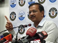 """No Fireworks,"" Orders Arvind Kejriwal As AAP Celebrates Election Victory"