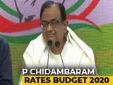 Video : Asked To Rate Budget, P Chidambaram's Epic Response